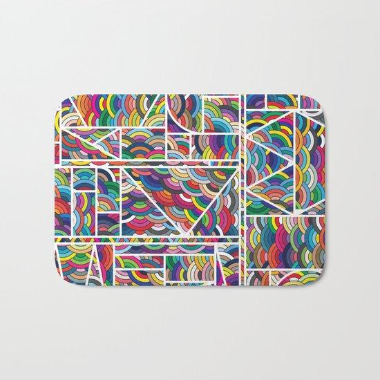 Kaku Technicolor Bath Mat