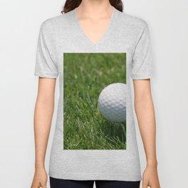 Golf Ball Unisex V-Neck