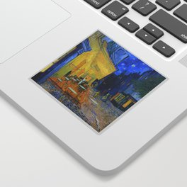 Vincent Van Gogh - Cafe Terrace at Night Sticker