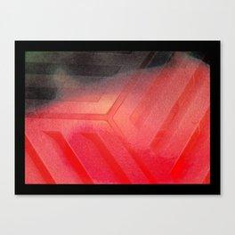 Red Rubix Canvas Print