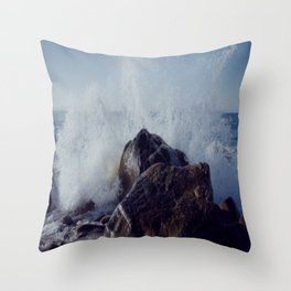 Make mine with a splash of water on the rocks Throw Pillow