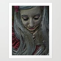 fairytale Art Prints featuring Fairytale by J5rson