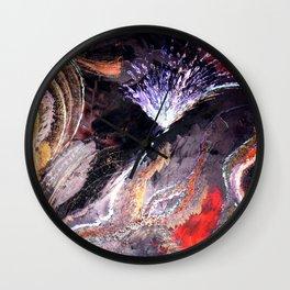 Lava Land Wall Clock