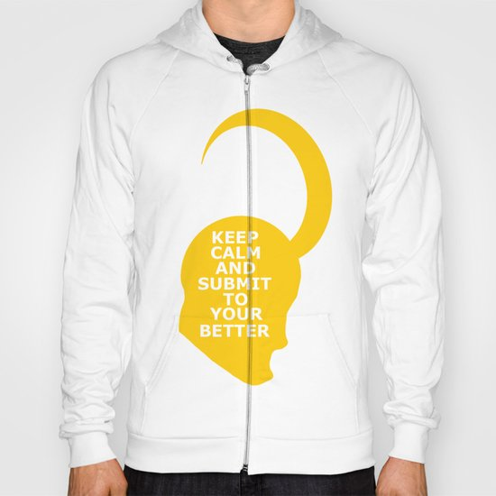 Keep Calm and Submit Hoody