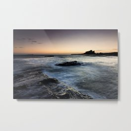 Bamburgh Castle - Nothumberland, UK Metal Print