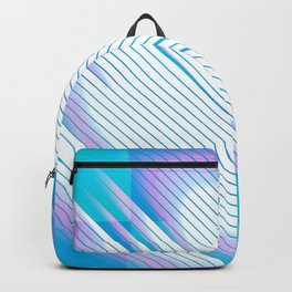 A Happy Moment - Abstract Geometric Backpack