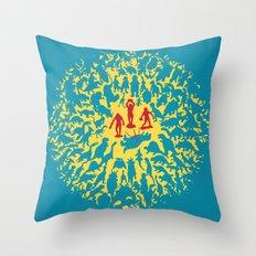 Hunted! Throw Pillow