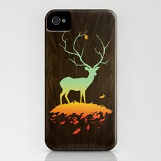 Fawn and Flora Slim Case iPhone (4, 4s)