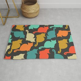 Cats and kittens Rug