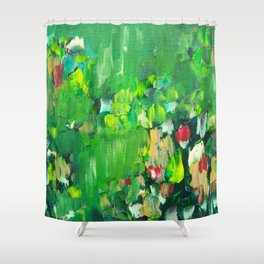 Abstract 19 Shower Curtain