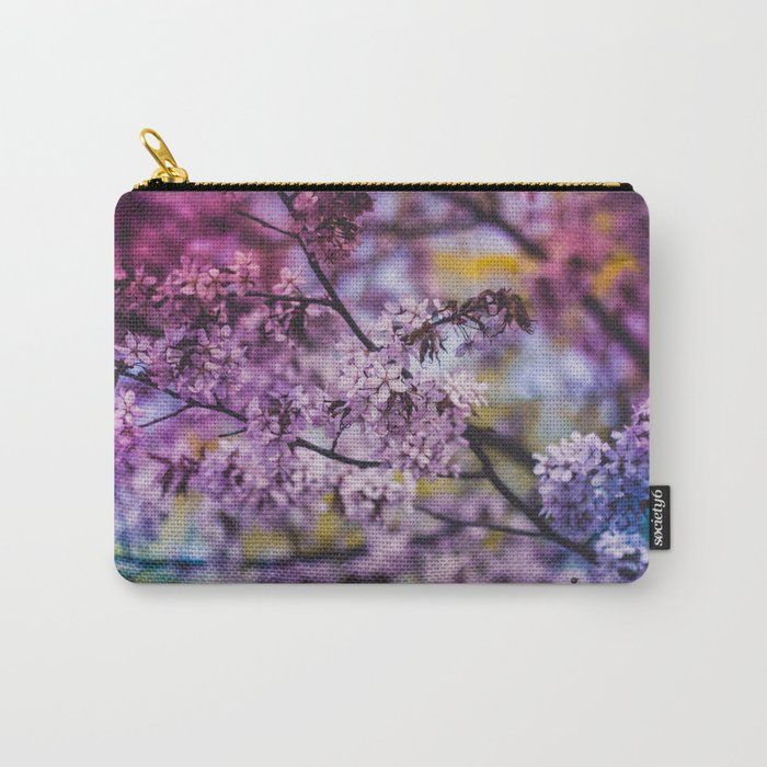 Spring Bloom Carry-All Pouch