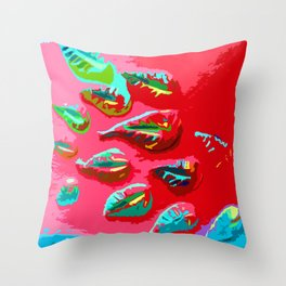 FLOATING S01 Throw Pillow
