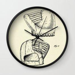Baseball Mitt-1945 Wall Clock