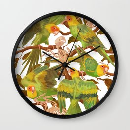 The extinction of the Carolina Parakeet. Wall Clock