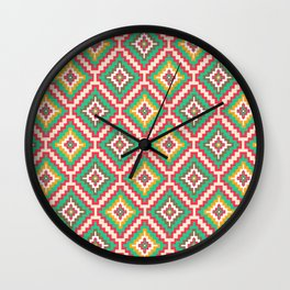 Indi-abstract#08 Wall Clock