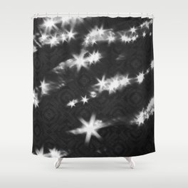 reflections pattern Shower Curtain