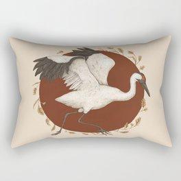 Whooping Crane Rectangular Pillow