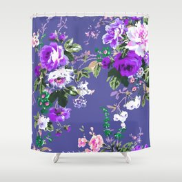 Bouquets with roses 3 Shower Curtain