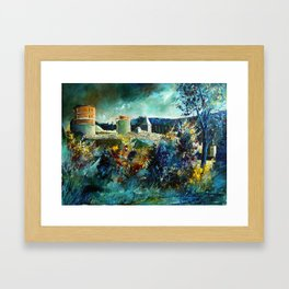 Hierges Castle Framed Art Print