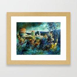 Hierges Castle Framed Art Print