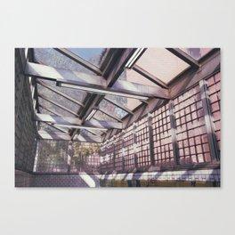 sunlight on 2nd street Canvas Print