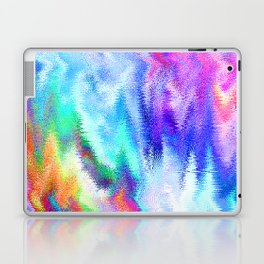 Vibrating Glitch Rainbow Laptop & iPad Skin