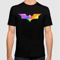 Batty Mens Fitted Tee Black LARGE