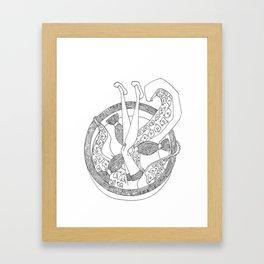 sailor soul Framed Art Print