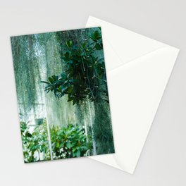 Green Lit Stationery Cards
