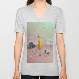 Land of Crystals Unisex V-Neck