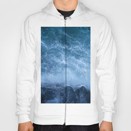 Waves from above Hoody