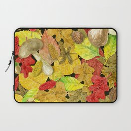 Watercolor autumn pattern Laptop Sleeve