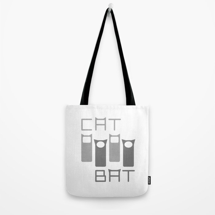Grey Four Tote Bag