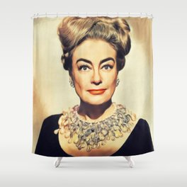 Joan Crawford, Hollywood Legend Shower Curtain