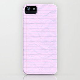 Class Notes iPhone Case