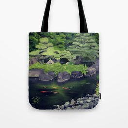 The Koi of Koko-en Garden Tote Bag
