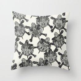 turtle party Throw Pillow