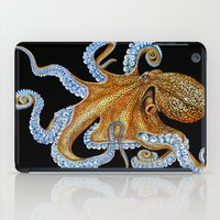 octopus iPad Cases featuring Octopus by Tim Jeffs Art