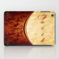 faith iPad Cases featuring Faith by Robin Curtiss