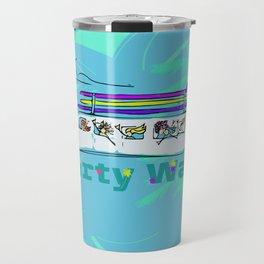Party Wave Surf Mobile Travel Mug