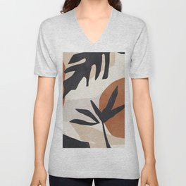 Abstract Art 49 Unisex V-Neck