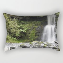 Blaen-y-glyn Waterfall 1 Rectangular Pillow