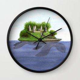 Turtle island Wall Clock