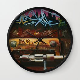 LOCKED IN Wall Clock