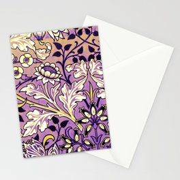 Nonbinary Pride Opulent Floral Design Stationery Cards