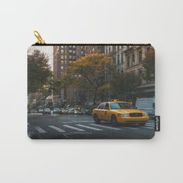Taxi on a Street in New York Carry-All Pouch