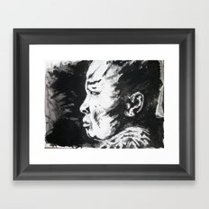Monje/Monk Framed Art Print