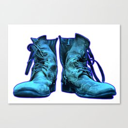Magic Boots Canvas Print