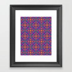 Moroccan tile Framed Art Print
