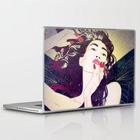 pagan Laptop & iPad Skins featuring Valkyrie II by Stevyn Llewellyn